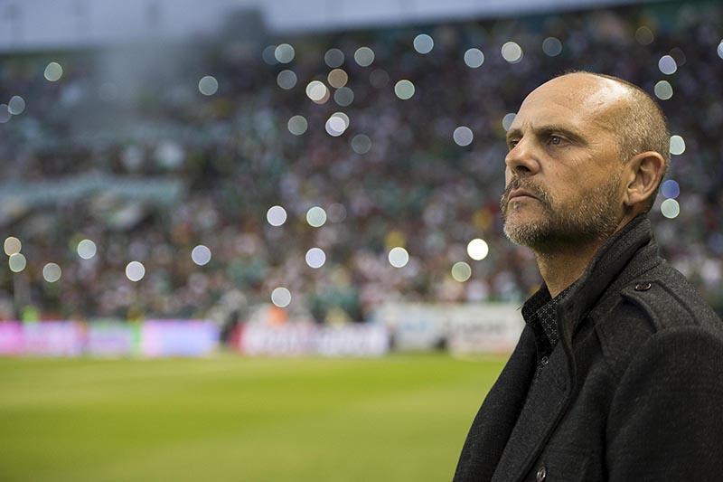 Javier Torrente, técnico de León