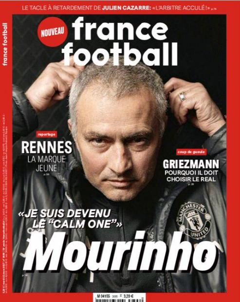 Mourinho, el hombre, la persona, trata de ser lo contrario de lo que es el entrenador