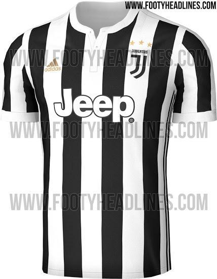 Filtran el jersey de la Juve para la siguiente temporada