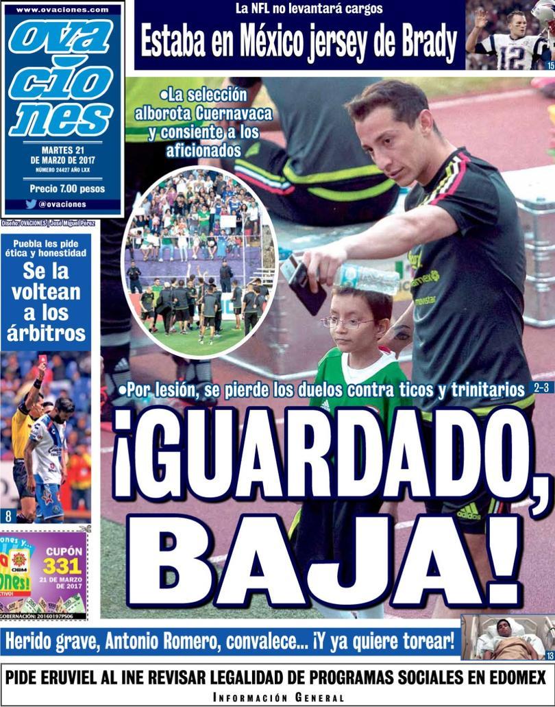 La prensa deportiva más importante del 21 de marzo del 2017.
