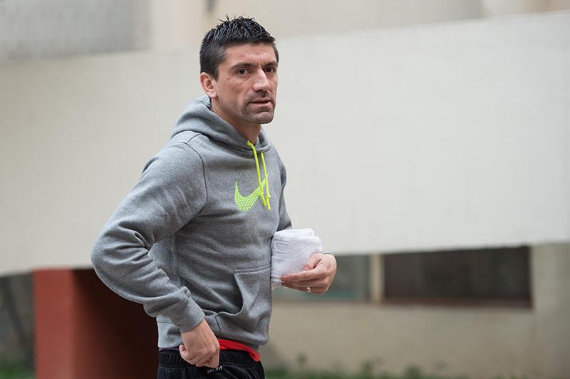 Héctor Mancilla cuando llegó a Tigres para el Clausura 2016