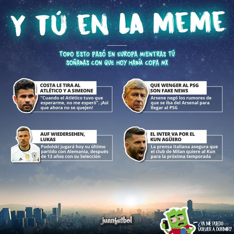 Todo esto pasó en Europa mientras tú soñabas con la Copa MX