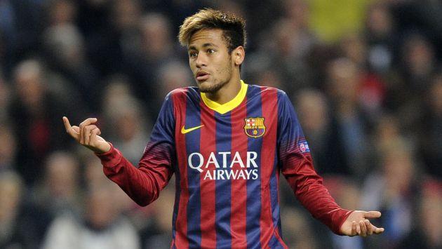Neymar afirmó que le gustaría jugar en la Premier League.
