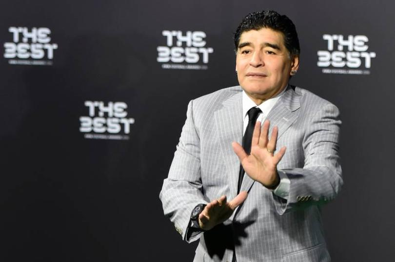 Maradona fue elegido Embajador de la FIFA