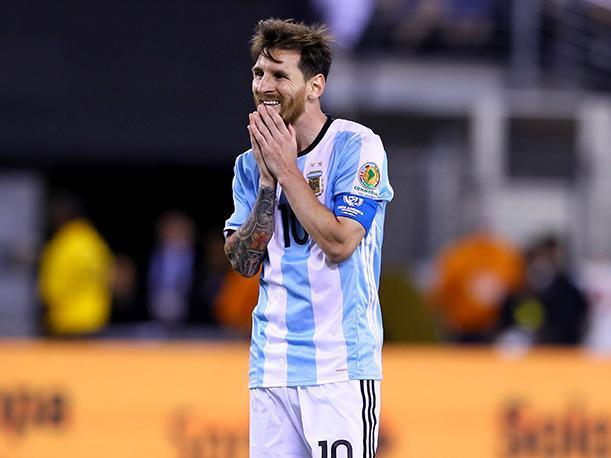 Messi en la Copa América Centenario 2016