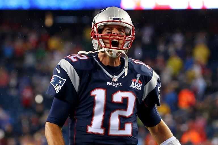 Tom Brady, quarterback de los Pats