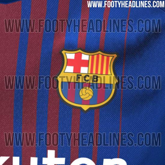 Le posible playera del Barcelona para la temporada 2017-2018