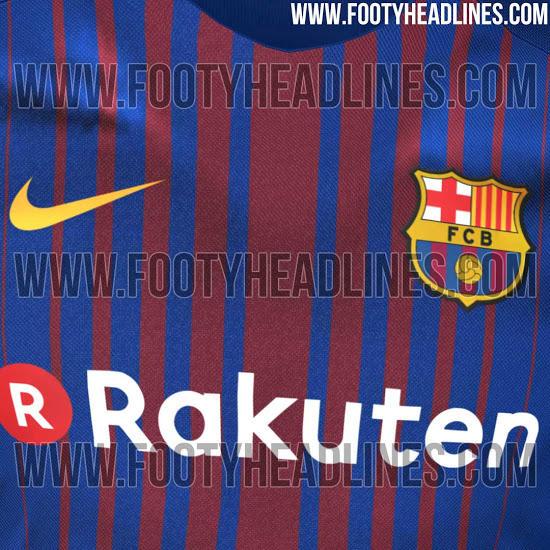 La próxima playera del Barcelona para la temporada 2017-2018