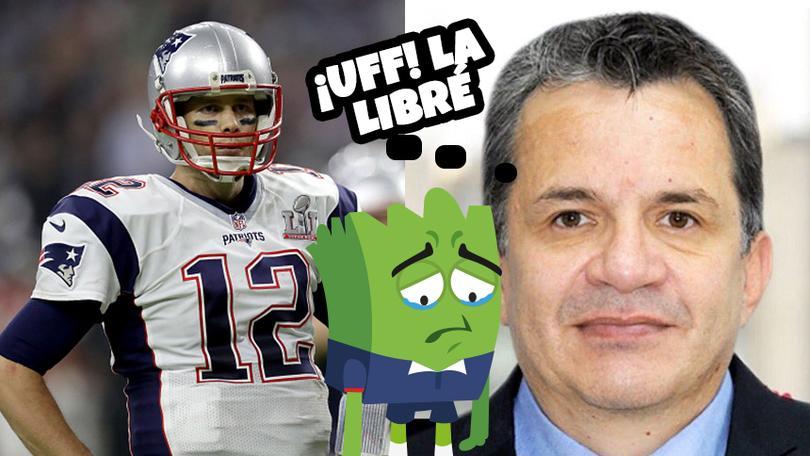 Ortega no va a ir a la cárcel por robar el jersey de Brady.