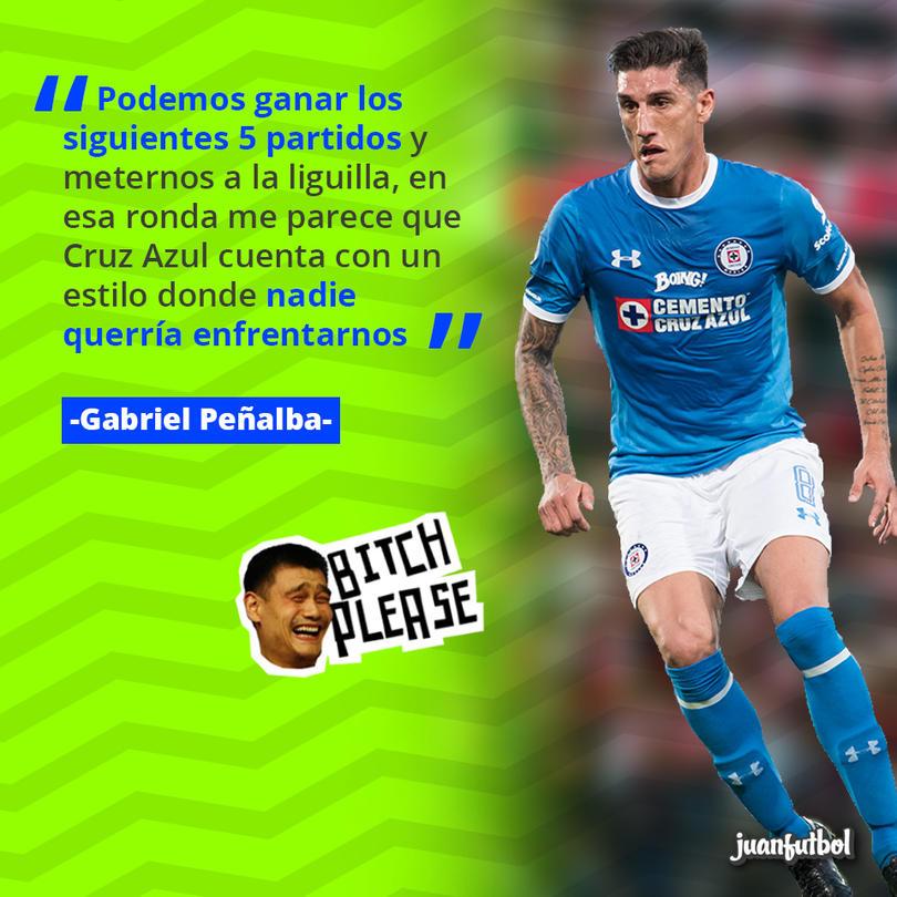 Peñalba ve a Cruz Azul fuerte en la Liguilla