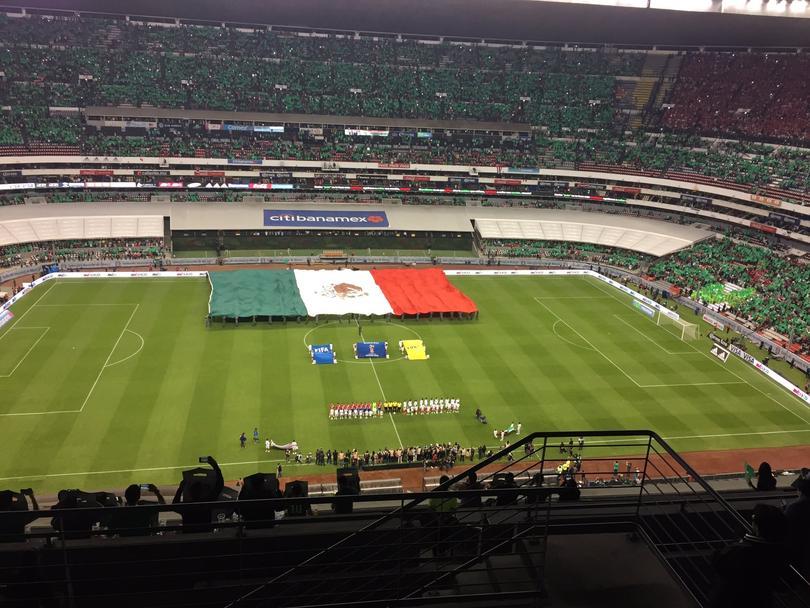 Así se vive el partido de la Selección Mexicana frente a Costa Rica.