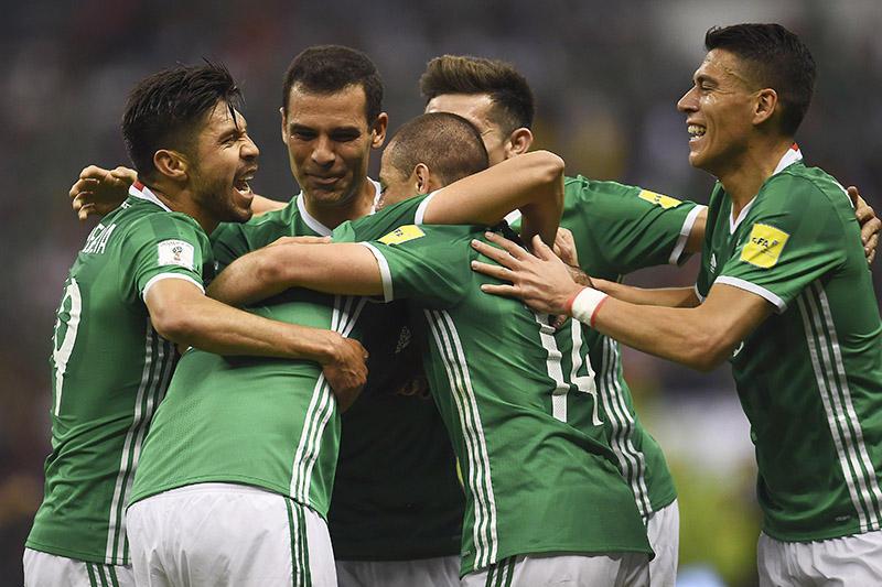 México le ganó a Costa Rica en el Azteca