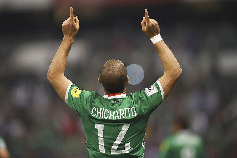 Chicharito anotó el primer gol ante Cota Rica