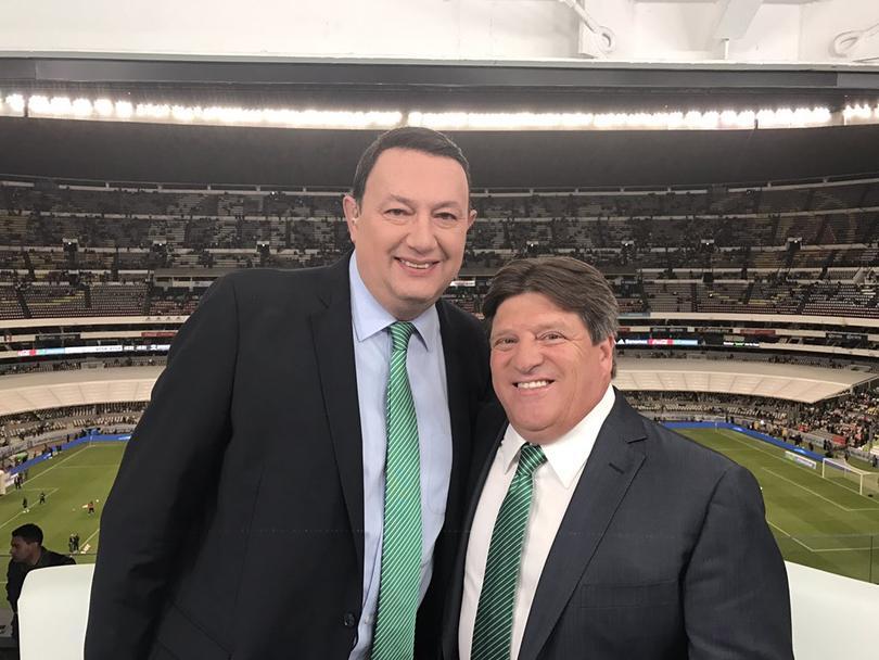 El Piojo estuvo en la transmisión de Televisa