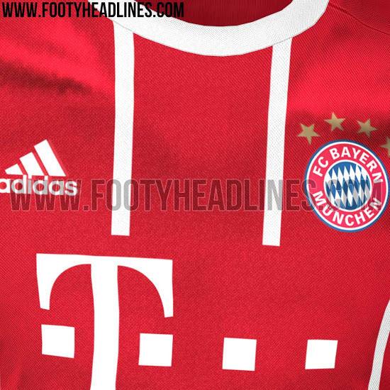 Filtran la camiseta del Bayern de la siguiente temporada