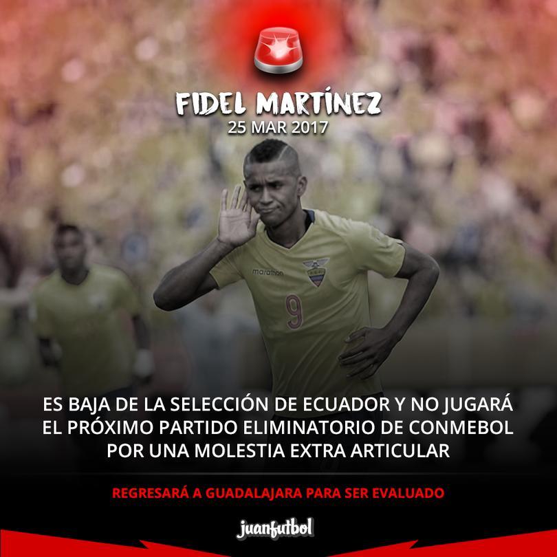 El martes 28 Ecuador se juega contra Colombia la posible caída al repechaje
