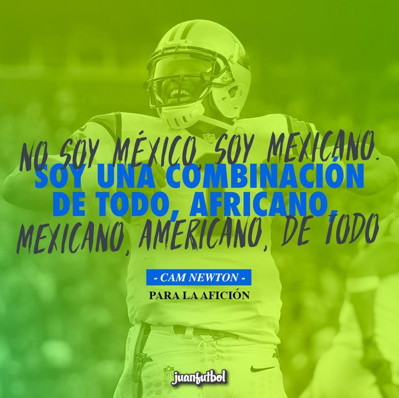 El QB de la NFL vino a Monterrey a impartir unas clínicas de futbol americano.