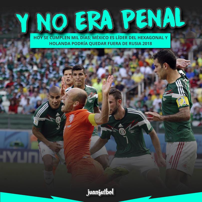 Han pasado mil días desde el #NoEraPenal