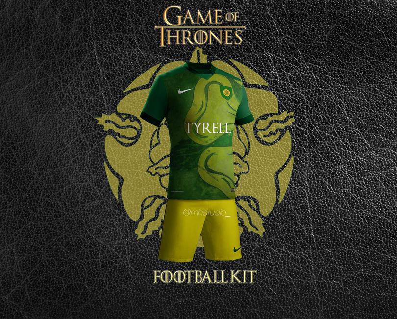 Así serían los uniformes de Game Of Thrones.