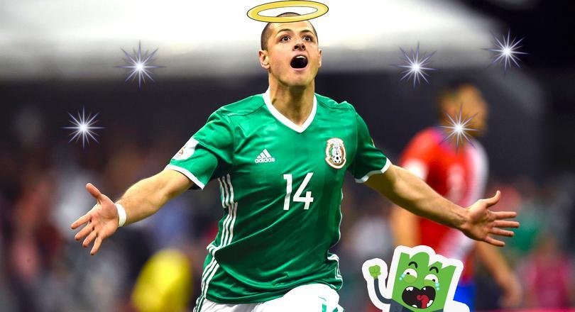 Chicharito cumplió sueño de fan trinitario.