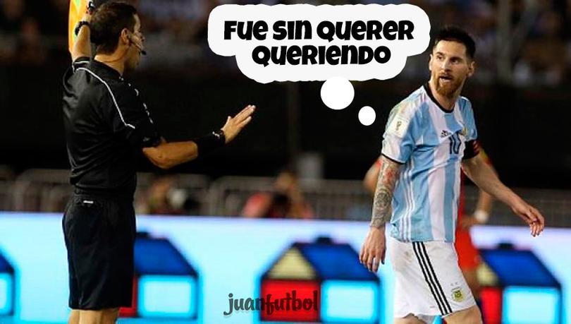 Otros jugadores que fueron castigados como Messi.