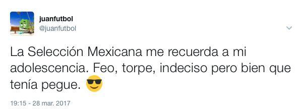 Los mejores tuits de México vs Trinidad y Tobago.