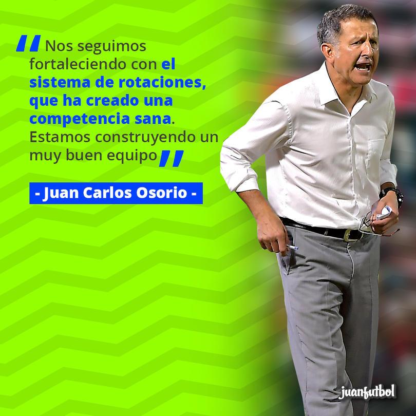 Osorio cree que el Tri se fortalece con la competencia