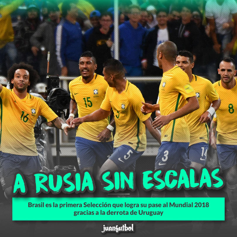 Brasil está en Rusia 2018