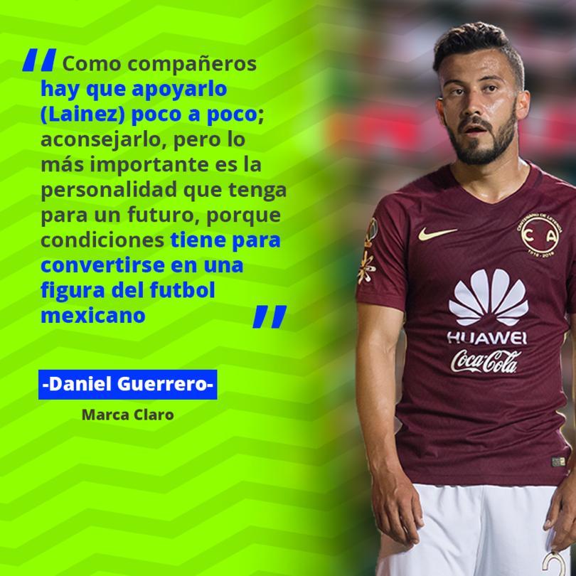 El Chepe Guerrero habló de Lainez