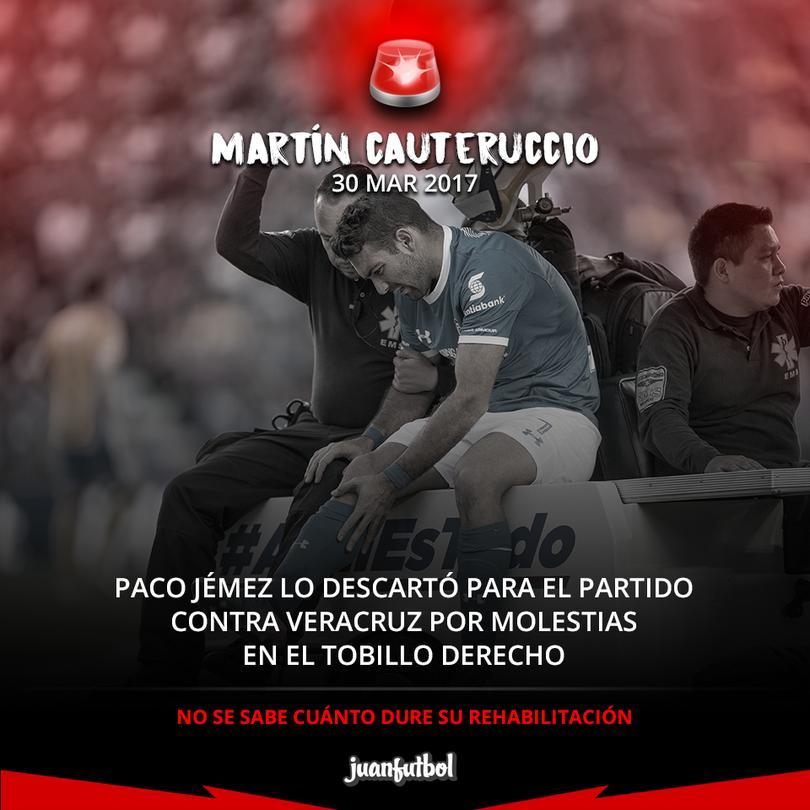 La buena noticia es que Ángel Mena sí regresa a jugar.