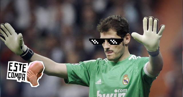 Ese Piqué se mete hasta en donde no le llaman y fue el buen Casillas que en esta ocasión le dio su merecido.