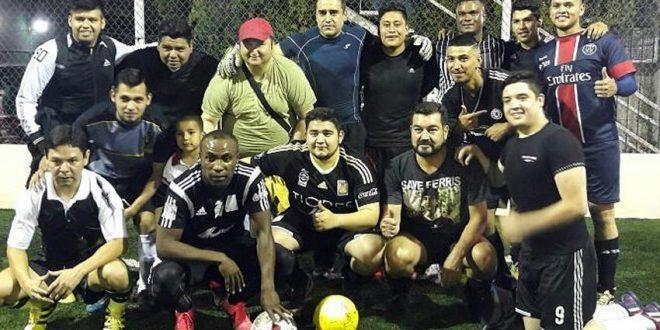 Guerrón juega Futbol 7