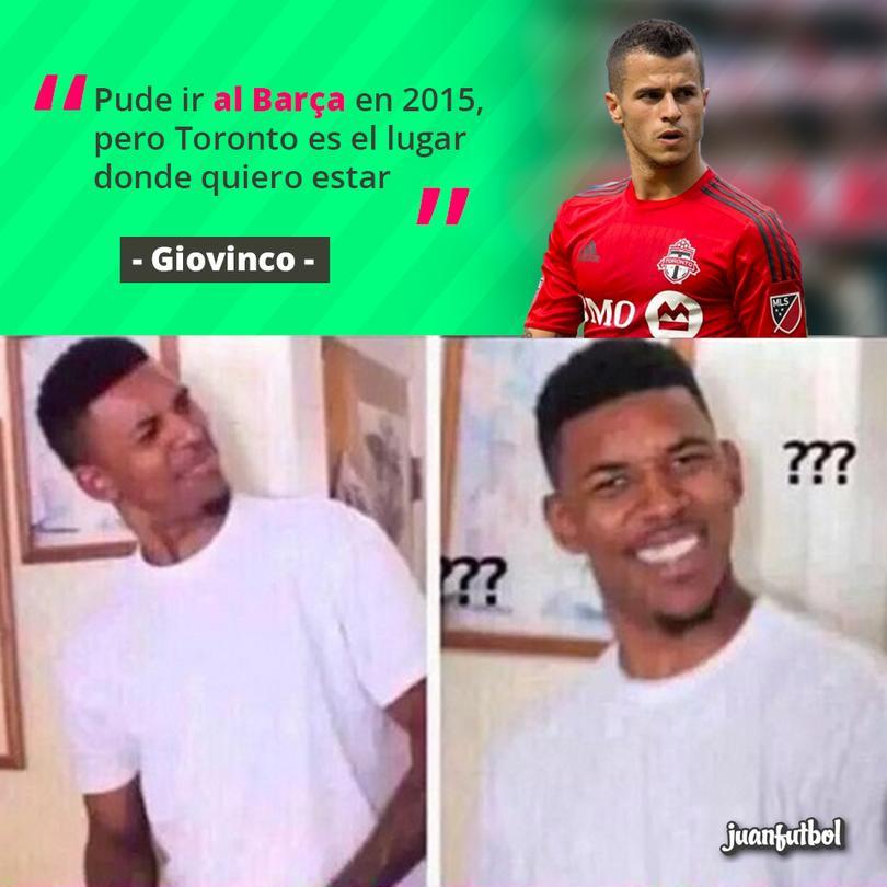 Como cuando Giovinco prefiere jugar en ¡¿la MLS?!