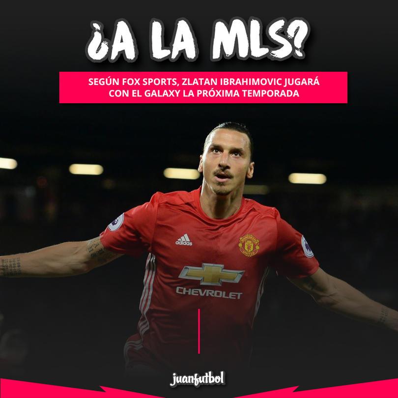 Según Fox Sports, Zlatan Ibrahimovic jugará en el LA Galaxy