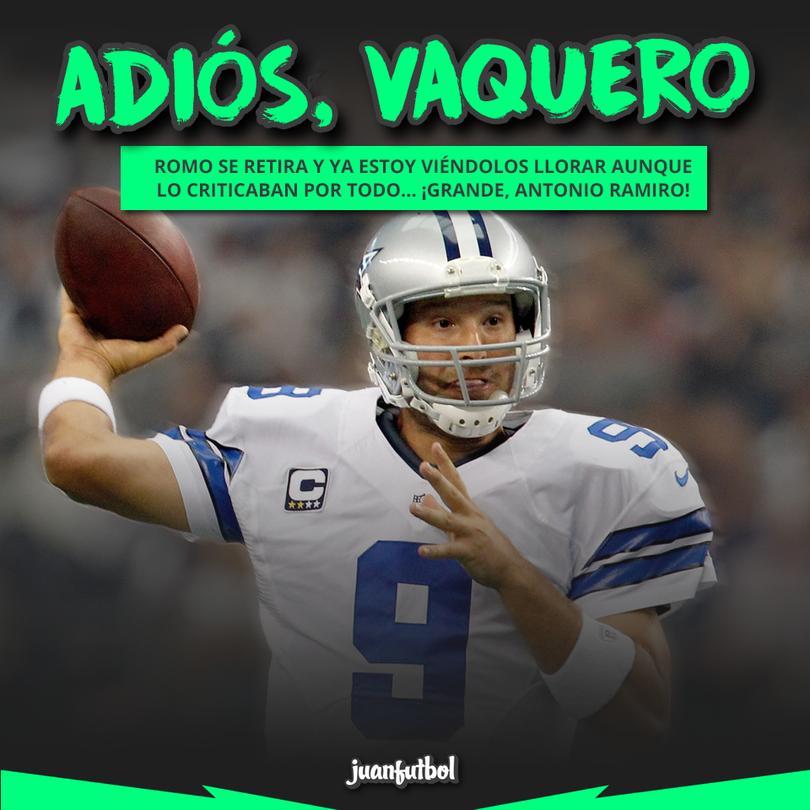 ¡Adiós, Romo!