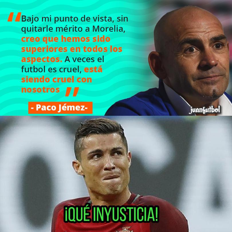 Paco Jémez dice que el futbol es cruel con Cruz Azul