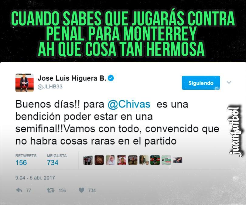 José Luis Higuera no quiere que haya nada raro contra Monterrey