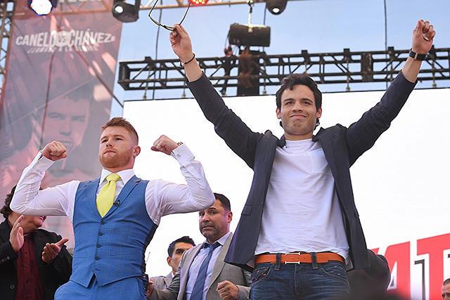 Azteca y Televisa compartirán la transmisión de la pelea entre el Júnior y Canelo