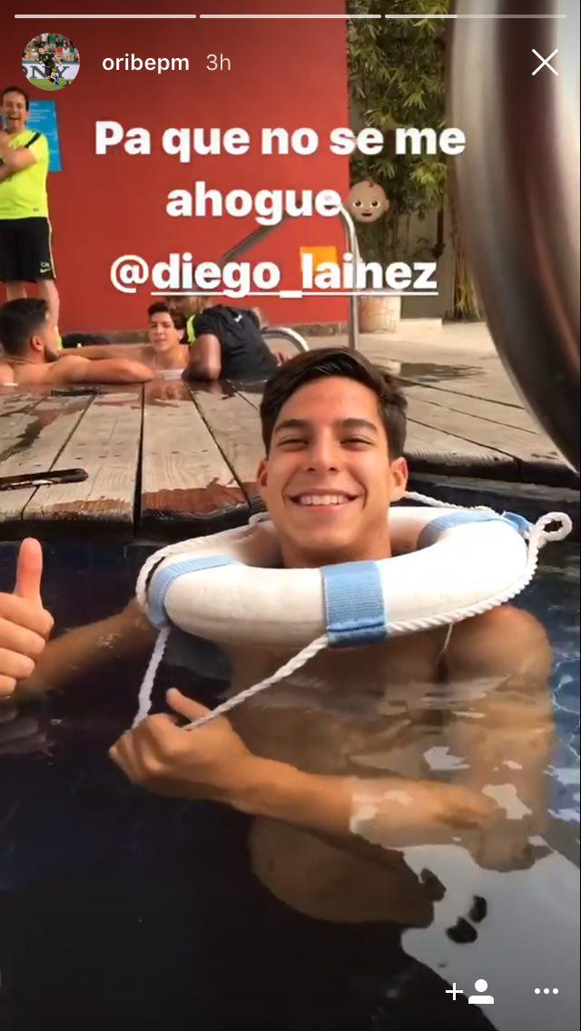 Instagram de Oribe Peralta