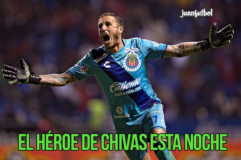 El portero del Puebla le regaló el gol a Fierro