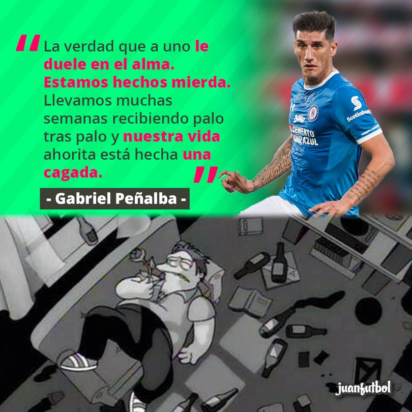 Peñalba explotó