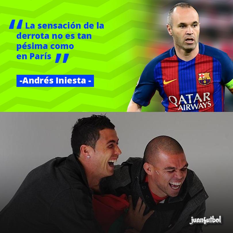 Andrés Iniesta confesó que no se siente tan pésimo como tras la derrota en París