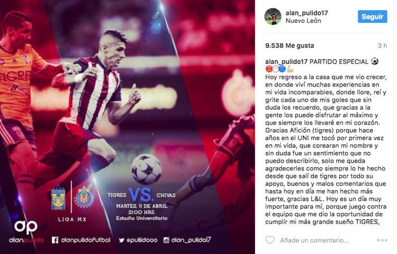 Es la primera vez que Pulido regresa al Universitario como rival