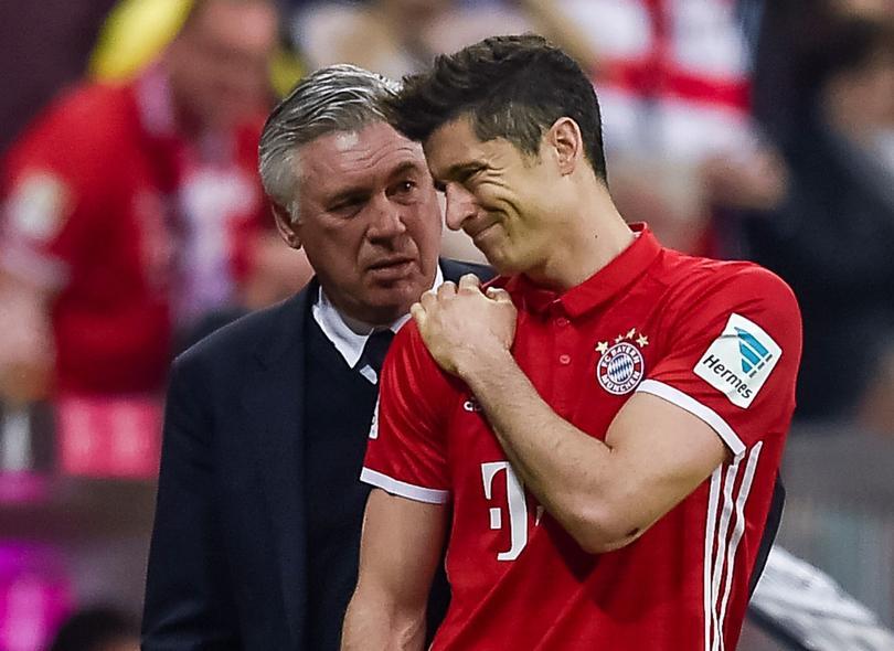 Lewandowski no saldría ni a la banca para el partido del Real Madrid.