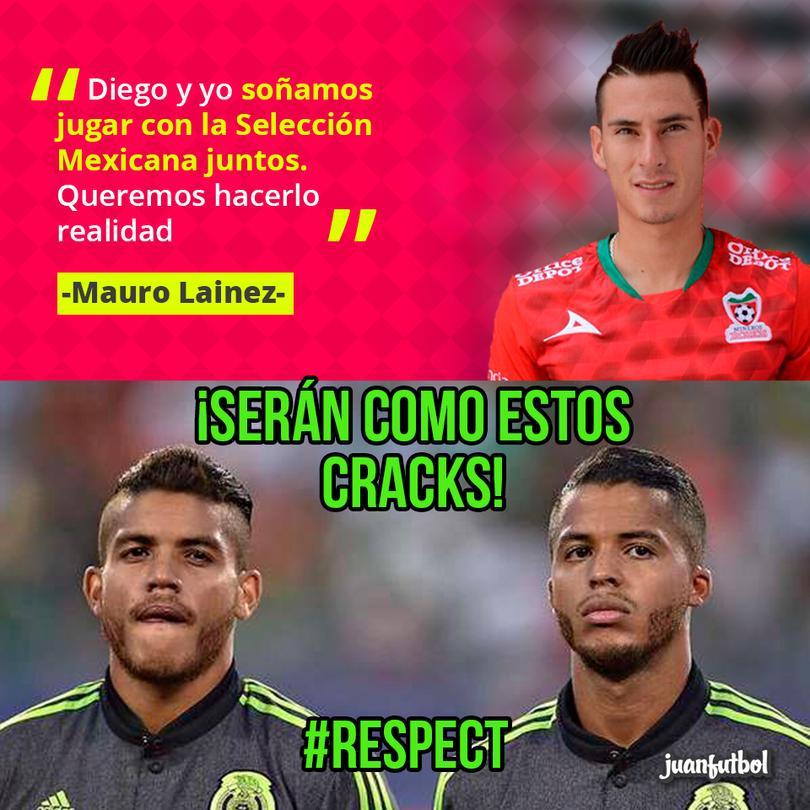 Hermanos en Selección Mexicana