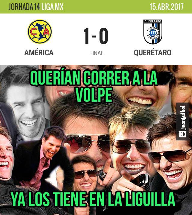 El Ame ganó con gol de Silvio Romero