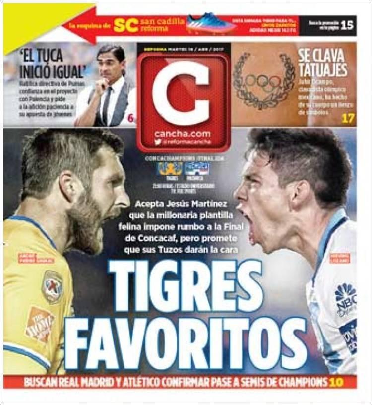La prensa deportiva más importante del día 18 de abril del 2017.