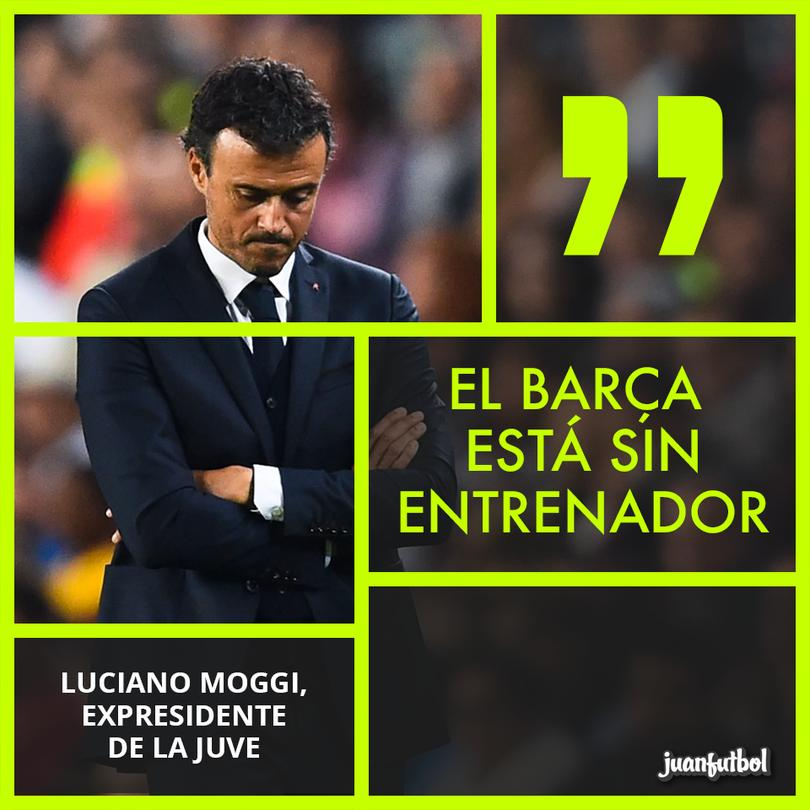 Para el Expresidente de la Juve; Luis Enrique no existe