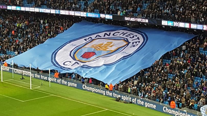 El nuevo uniforme del Manchester City.