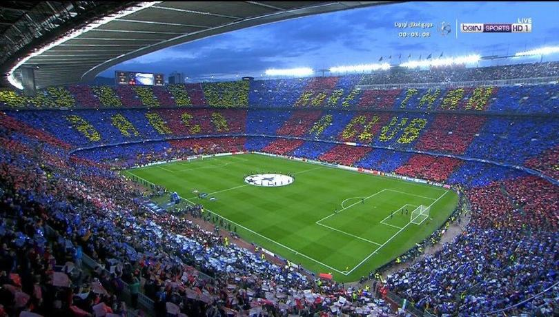Barcelona luce mosaico.